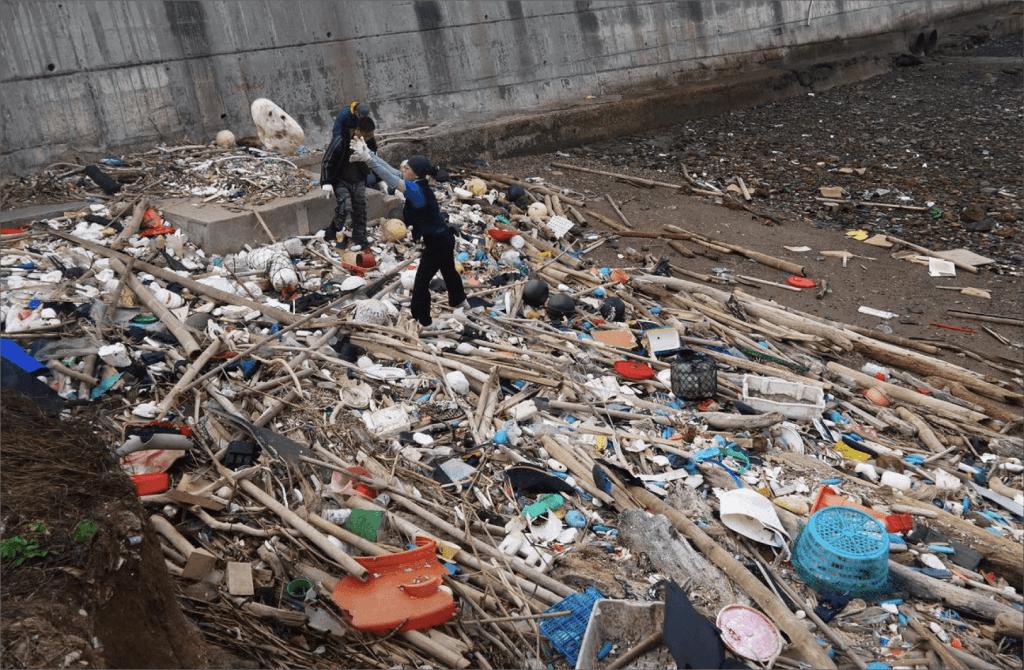 海邊垃圾澎湖
