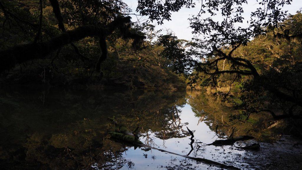 絕美的大鬼湖景致