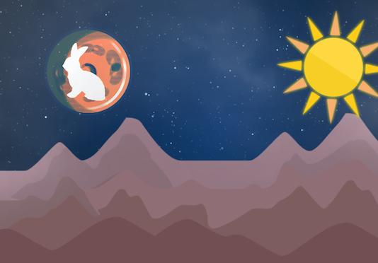 除了歐洲有「月亮上的人」的傳說,全世界還有很多地方的人,把月球上的海洋、高地和隕石坑看成各種不同的東西,例如兔子、狐狸或蟾蜍。