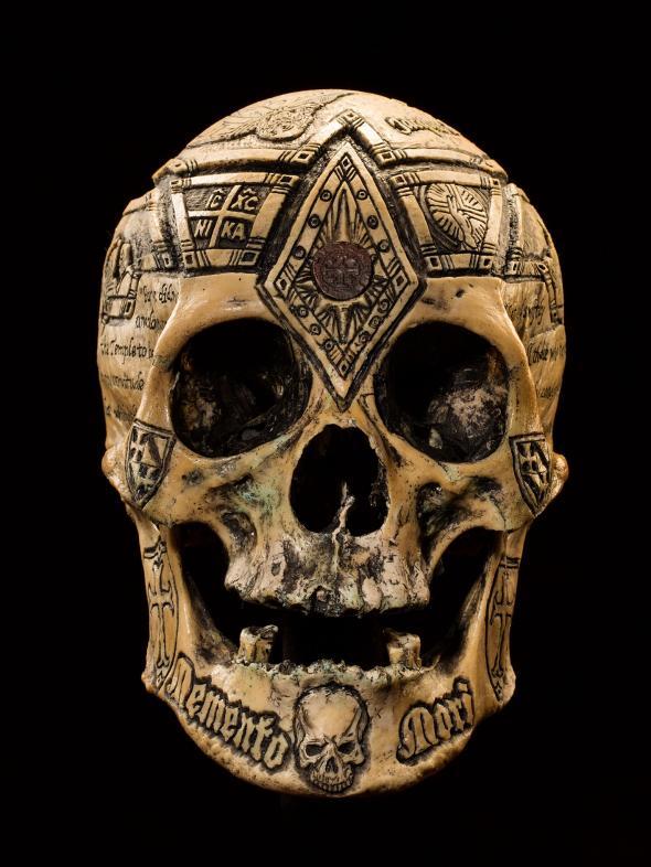 聖殿騎士頭顱
