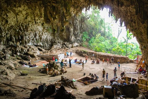 出土佛洛勒斯人的梁布亞洞穴。(圖片來源)