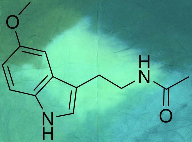 褪黑激素的化學結構
