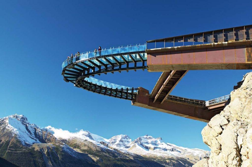 加拿大冰川天空步道