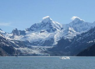 冰河融化了