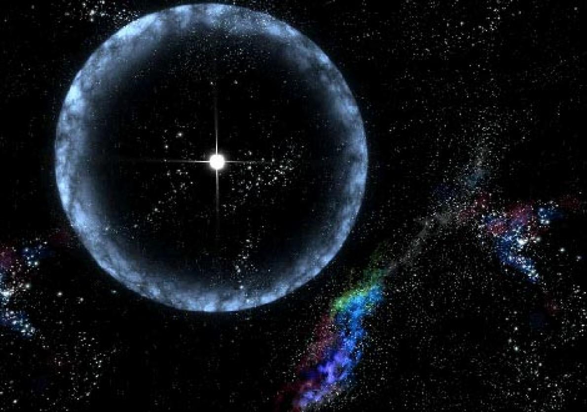 距離地球5萬光年的中子星