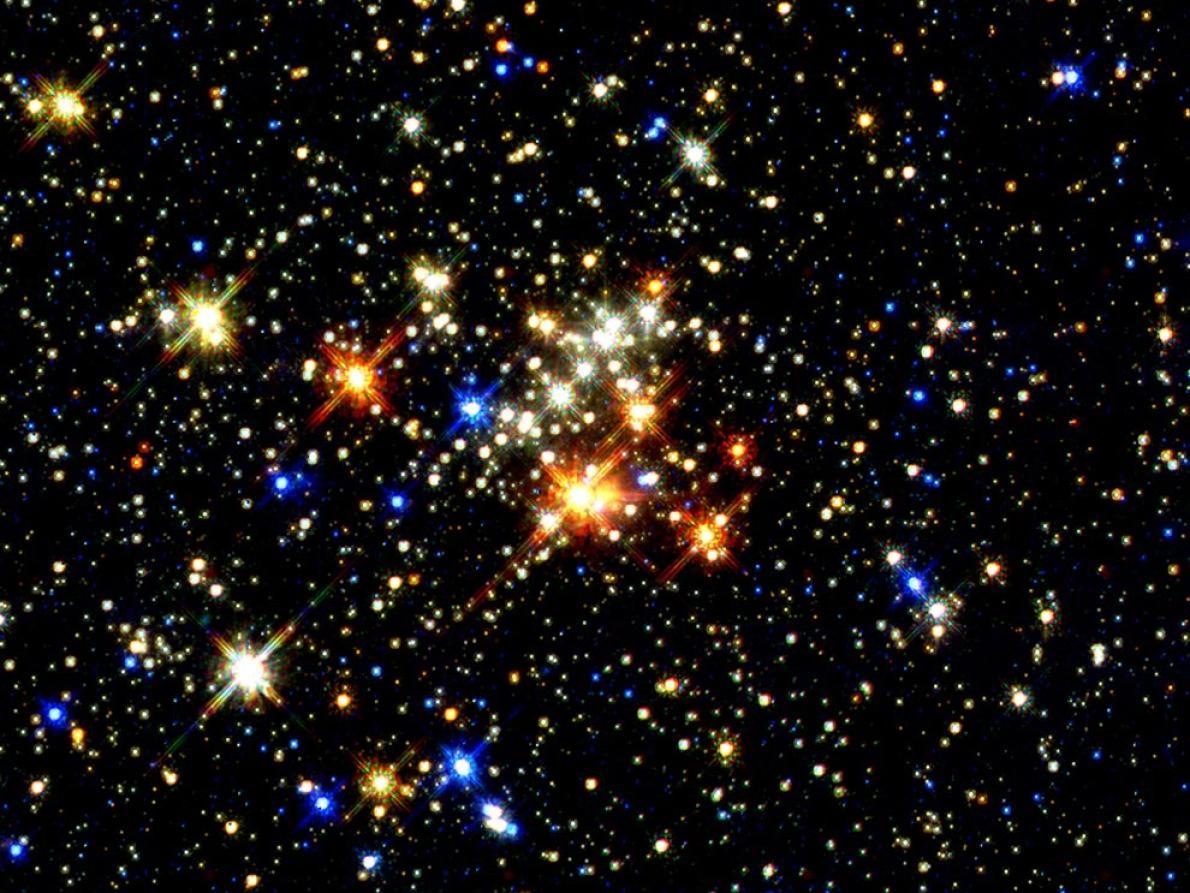 這是目前為止最清楚的五合星團影像。