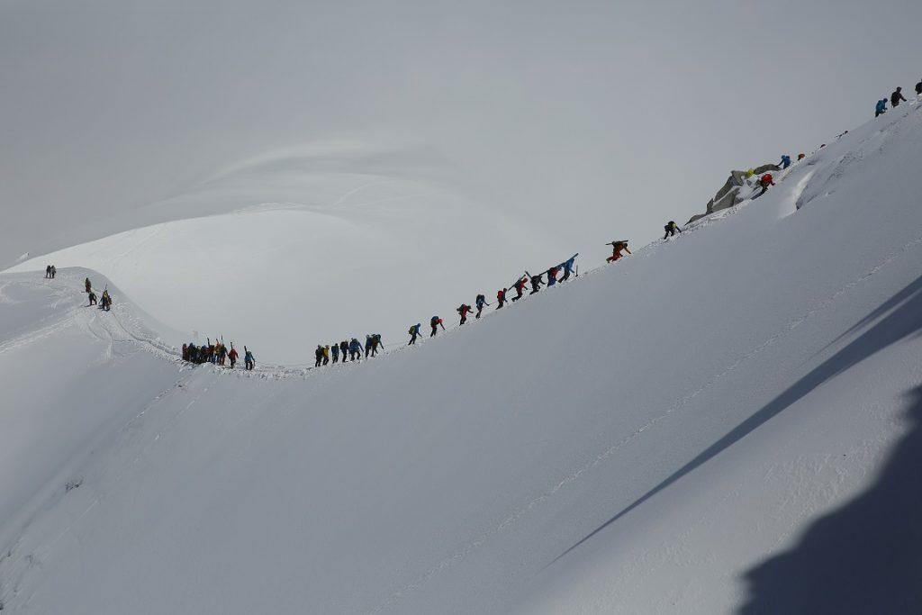 參加法國始祖鳥高山學苑-阿爾卑斯南針鋒-