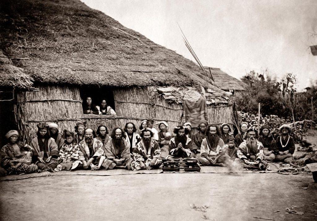 日本原住民愛奴人